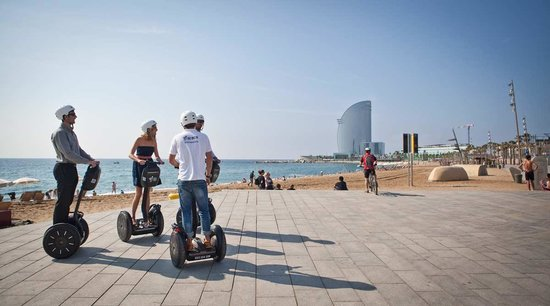 Экскурсии по Барселоне на сегвее
