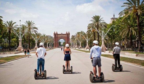 Barcelona Segway Tour: Paseo triunfal