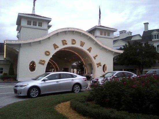 Disney's BoardWalk Inn : Boardwalk Inn entrance