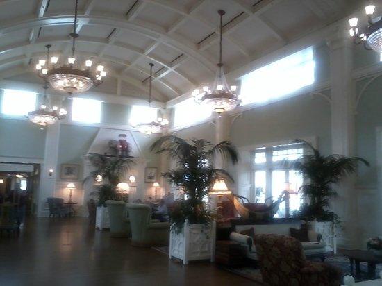Disney's BoardWalk Inn : Boardwalk Inn lobby