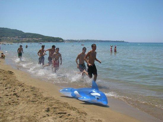 Aldemar Royal Olympian: на пляже Альдемара