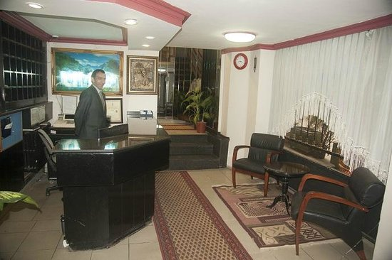 AS Hotel: Reception