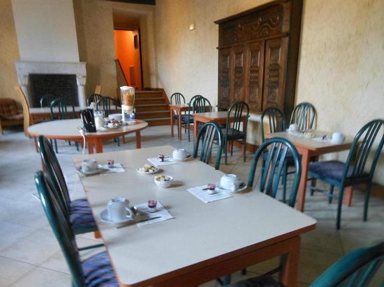 Jackotel : autre salle du petit déjeuner