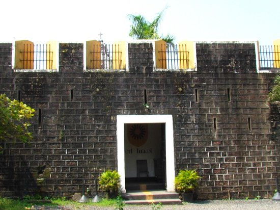 Fort Terekhol: The Main entrance to the fort
