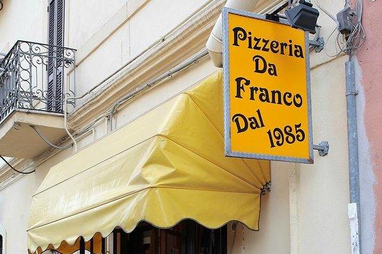 Pizzeria Da Franco dal 1985: pizza