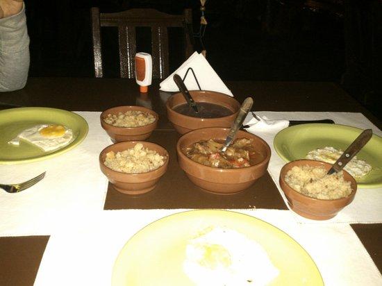 Don Mocona Virgin Lodge: Excelente la comida !!!!.