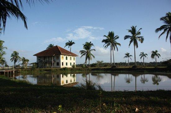 Fazenda Nossa Senhora do Carmo : vue générale de la maison - Vista geral da casa
