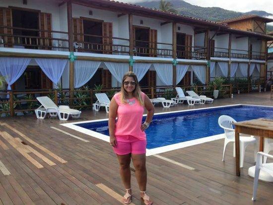 Pousada Refugio da Harmonia: Área da piscina maravilhosa.