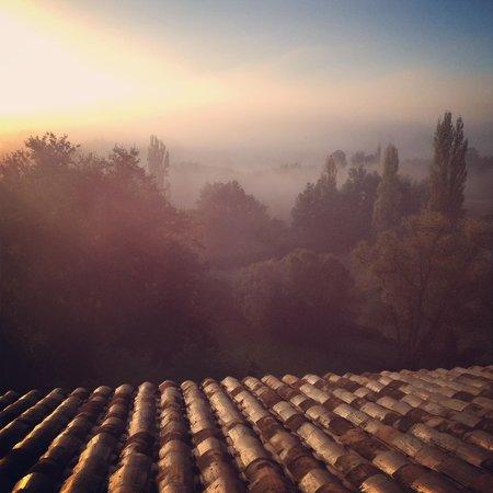 Maison D'hotes Bordeaux Saint Emilion : Villa Beylie: N'y a-t-il pas pire comme vue au réveil ? :)