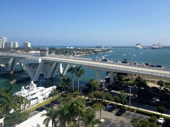 Hilton Fort Lauderdale Marina: view