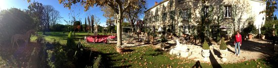 Le Mas Saint Florent : Les jardins
