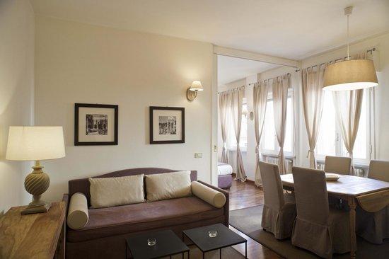 Residenza dell'Olmata: Appartamento A 316 - Soggiorno