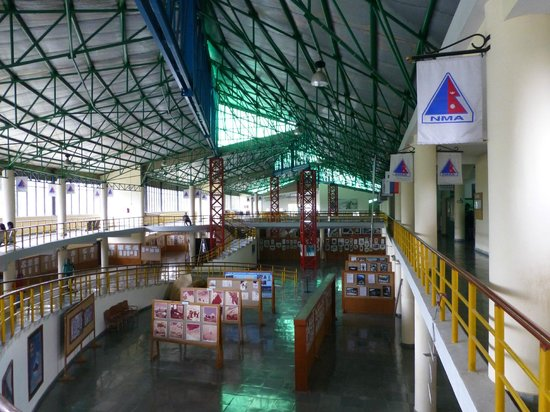International Mountain Museum: A view of the main Hall