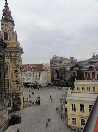Hotel Suitess zu Dresden: vista da cobertura
