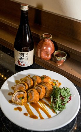 "Photo: ""Chicken Chashu (Deep Fried Slices of Chicken Thigh Roll with ..."