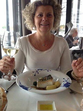 Lofoten Fiskerestaurant: Prato principal, bacalhau!!!
