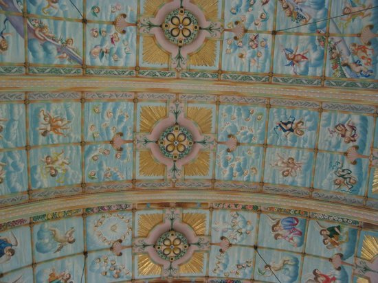 St Mary's Catholic Church: Part of the ceiling