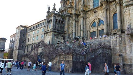 Plaza del Obradoiro: Praça do Obradoiro,Santiago de Compostela.