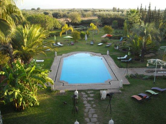 Villa Catherine : la piscine