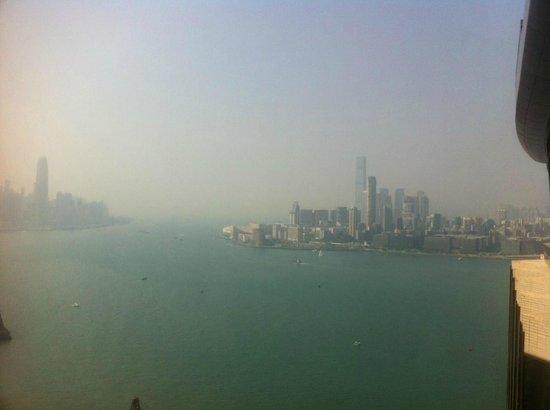 Harbour Grand Hong Kong: view from Hotel Harbour Grand, Hongkong