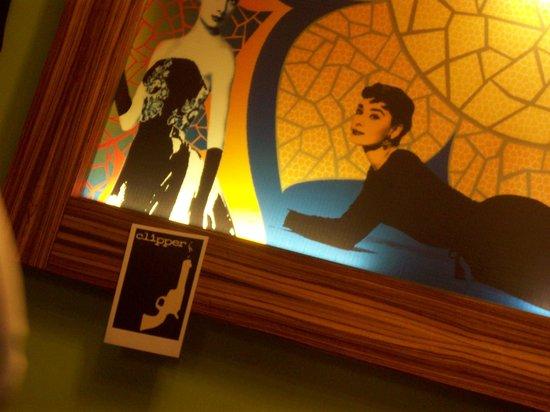 Art Cafe' : Parete tipo.