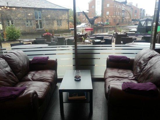 Cuvee Leeds: lounge area