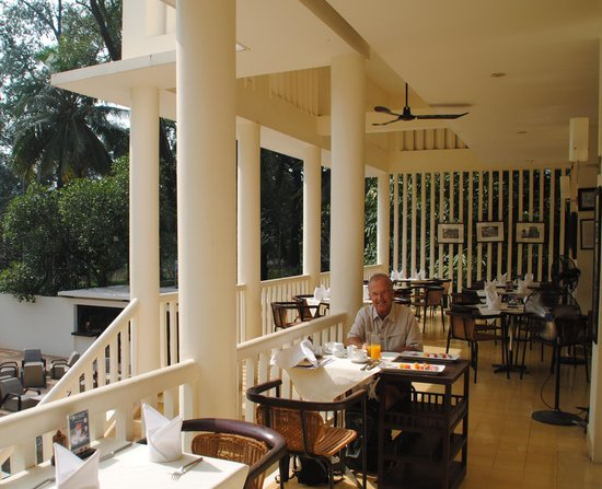 FCC Angkor: Breakfast on the balcony