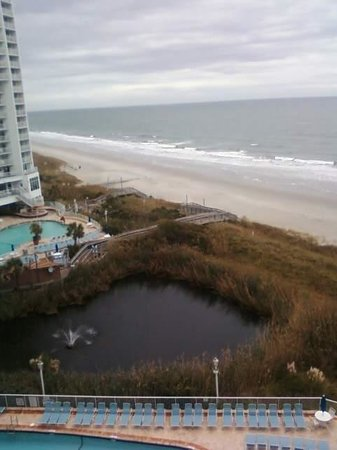 Wyndham SeaWatch Plantation: Balcony view 8th floor south tower
