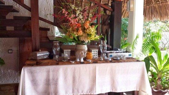 Luna House Malindi: Colazione