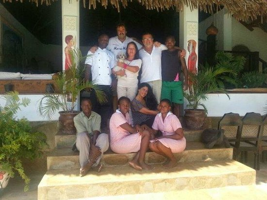 Luna House Malindi: Staff