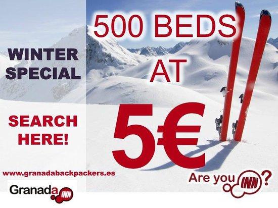 Granada Inn Backpackers: WINTER SPECIAL