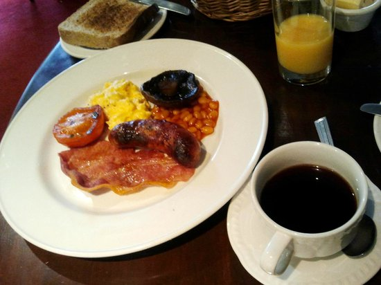 Angel Inn: colazione