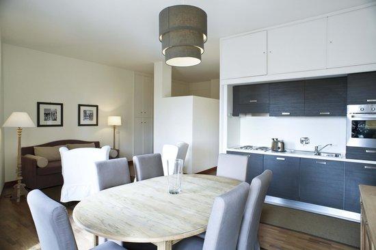 Residenza dell'Olmata: Appartamento B 311 - Soggiorno con angolo cucina