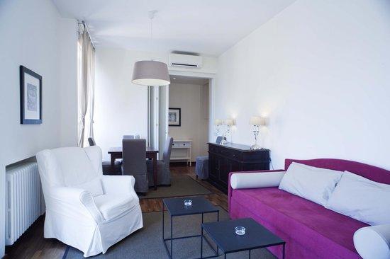 Residenza dell'Olmata: Appartamento B 312 - Soggiorno