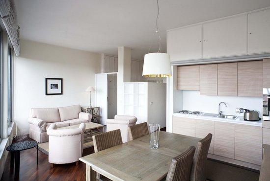 Residenza dell'Olmata: Appartamento B 415 - Soggiorno con angolo cottura
