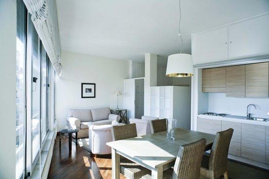Residenza dell'Olmata: Appartamento B 415 - Soggiorno