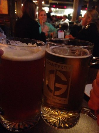 Granite City Food & Brewery: Local beers