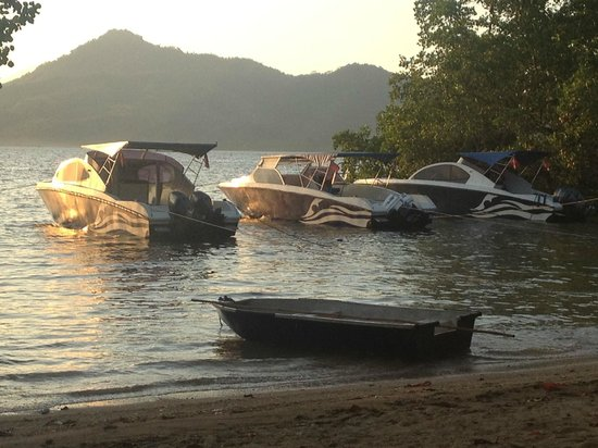 The Village Bunaken: custom boats