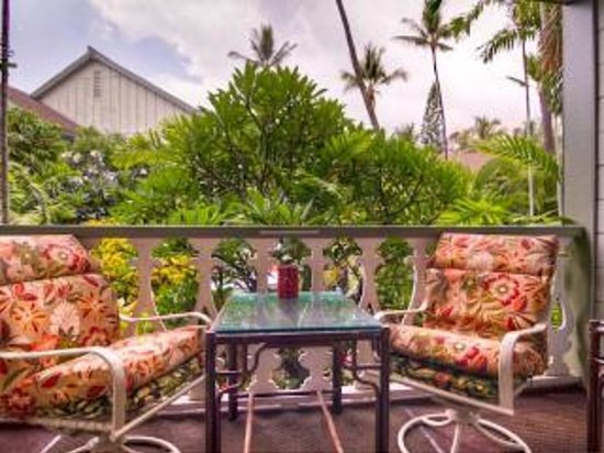 Kona Islander Inn: Lani was very private w/all the plants.