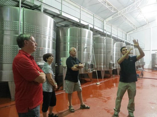 Vistalba Wine Tours : Zuccardi Winery