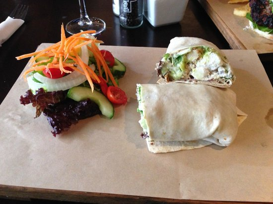 Java Cafe : lovely wrap!