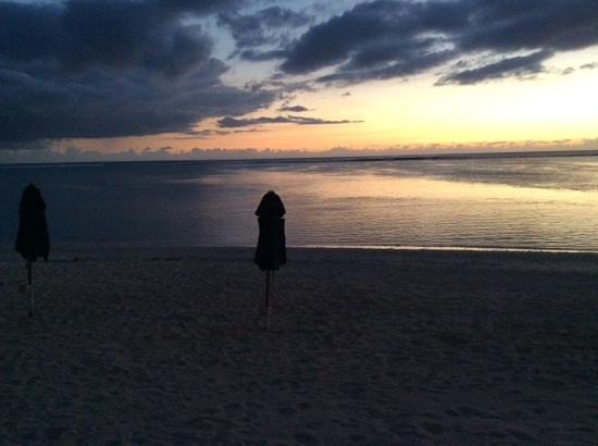 Le Nautile : le lagon. 19 h. 21 novembre 2013