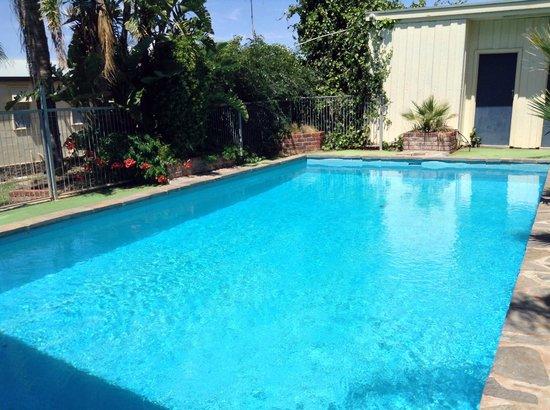 Comfort Inn Augusta Westside : The pool