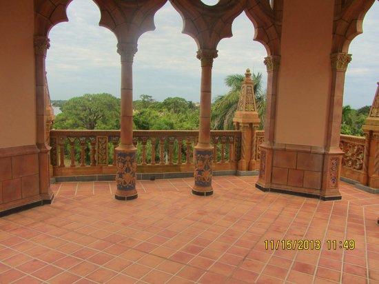 Ca d'Zan Mansion : Rooftop Terrace