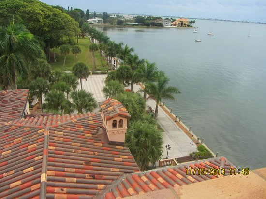 Ca d'Zan Mansion : Views from the rooftop