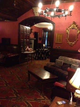 Tulloch Castle Hotel: inside reception area