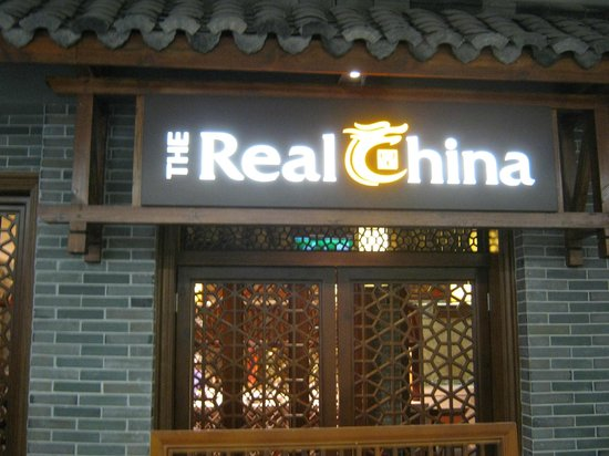 The Real China: Outside the restaurant