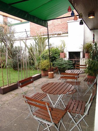 L'Auberge: Terrace