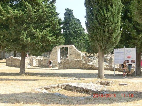 Ruins of the Solin Amphitheatre : parte dei resti di Salona