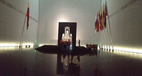 Panteón Nacional: Musoleo de los restos del Libertador